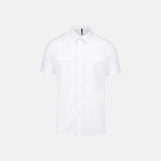 Kortärmad (herr) Lång- & kortärmade pilotskjortor med reklamtryck