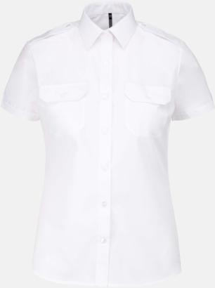 Kortärmad (dam) Lång- & kortärmade pilotskjortor med reklamtryck