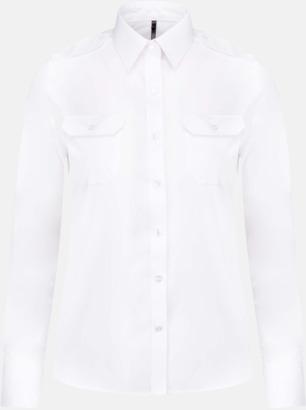 Långärmad (dam) Lång- & kortärmade pilotskjortor med reklamtryck