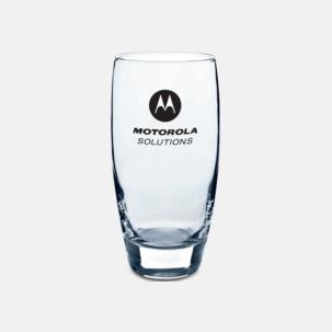 Fina dricksglas med reklamlogo
