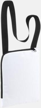 Vit Enkla & billiga dokumentväskor med reklamtryck