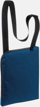 Marinblå Enkla & billiga dokumentväskor med reklamtryck