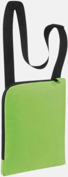 Apple Green Enkla & billiga dokumentväskor med reklamtryck