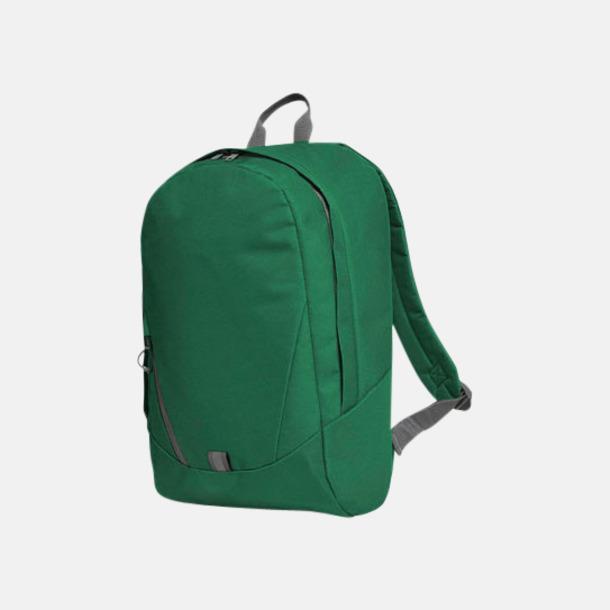 Grön Moderna Halfar ryggsäckar med reklamtryck
