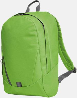 Apple Green Moderna Halfar ryggsäckar med reklamtryck