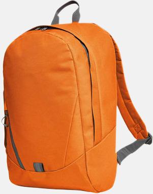 Orange Moderna Halfar ryggsäckar med reklamtryck