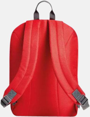 Moderna Halfar ryggsäckar med reklamtryck