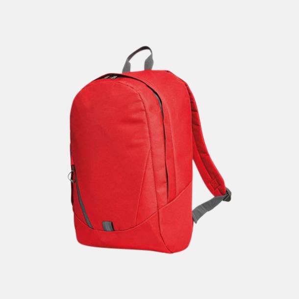 Röd Moderna Halfar ryggsäckar med reklamtryck