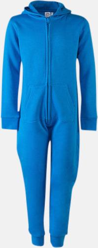 Sapphire Blue (barn) Overaller för barn & vuxna - med reklamtryck
