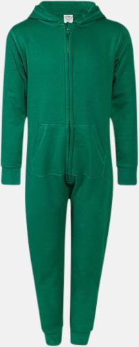 Grön (barn) Overaller för barn & vuxna - med reklamtryck