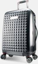 Extra stora resväskor med reklamtryck