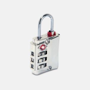 TSA-godkända lås i metall med reklamlogo