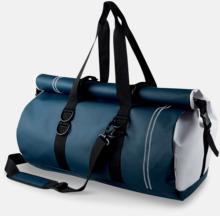 Vattentäta rolltop väskor med reklamtryck