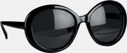 Runda solglasögon med reklamtryck