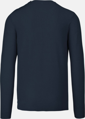 Tröjor med knäppning på sidan - med reklamtryck