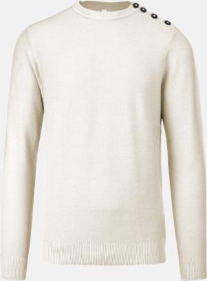 Off-White Tröjor med knäppning på sidan - med reklamtryck