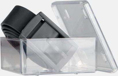Bälten i silikon med gravyrlogo