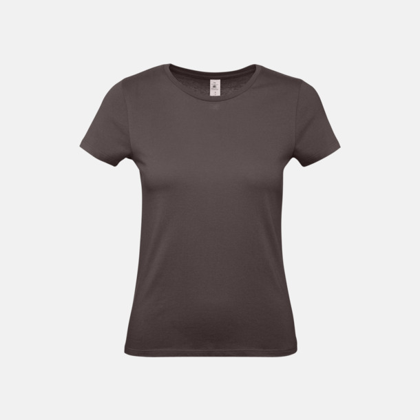 Bear Brown (dam) Fina kvalitets bas t-shirts med reklamtryck