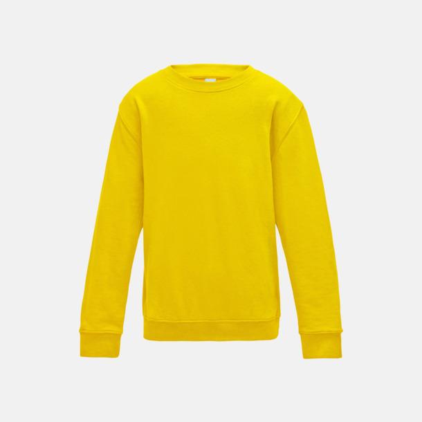 Sun Yellow (barn) Tröjor i många färger med reklamtryck