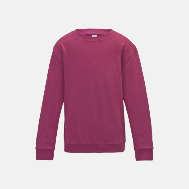 Hot Pink (barn) Tröjor i många färger med reklamtryck