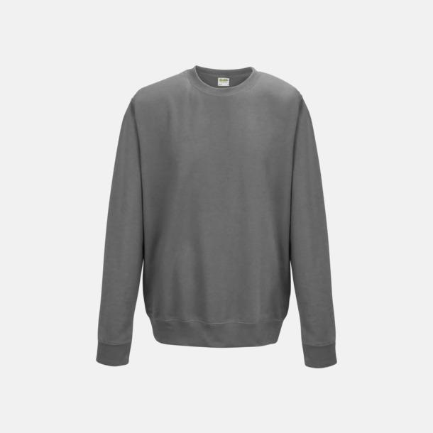Steel Grey (unisex) Tröjor i många färger med reklamtryck