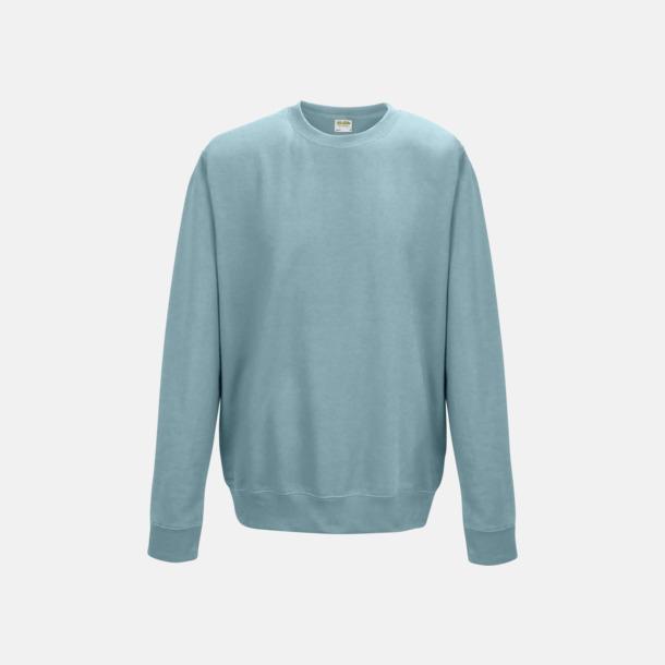 Sky Blue (unisex) Tröjor i många färger med reklamtryck