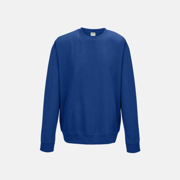 Royal Blue (unisex) Tröjor i många färger med reklamtryck