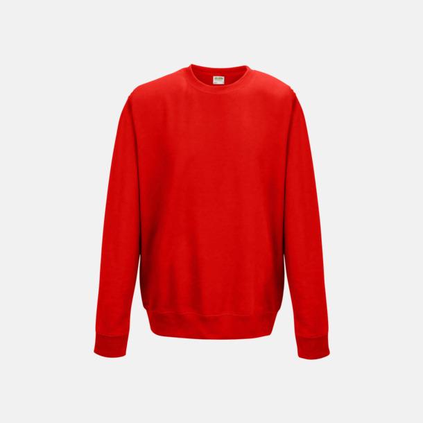 Fire Red (unisex) Tröjor i många färger med reklamtryck