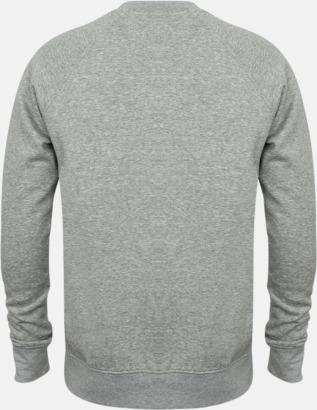 Slimma unisex tröjor med reklamtryck