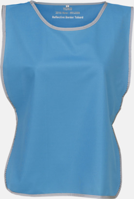 Sapphire Västar med reflexrand med reklamtryck