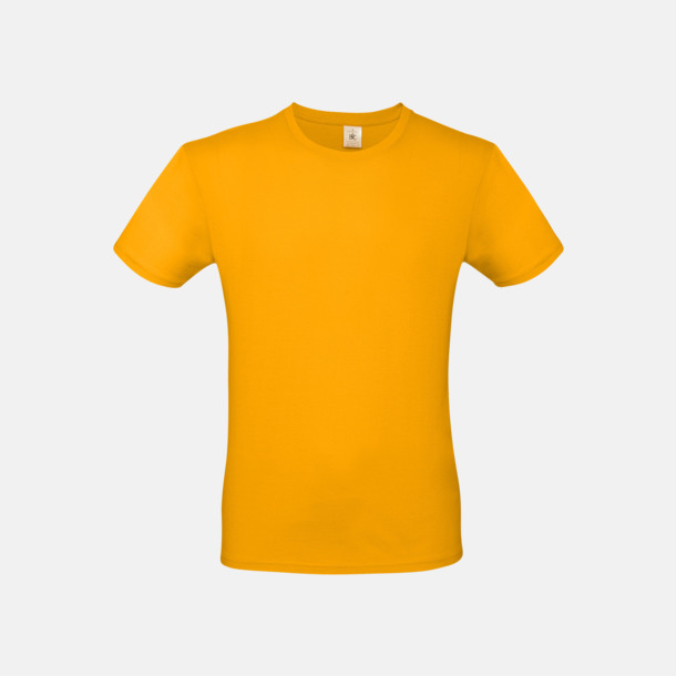 Apricot (herr) Fina kvalitets bas t-shirts med reklamtryck