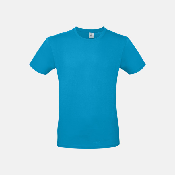 Atoll (herr) Fina kvalitets bas t-shirts med reklamtryck