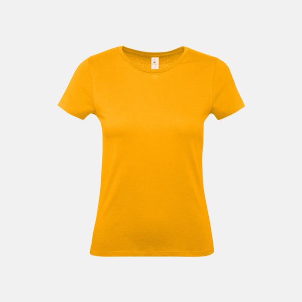 Apricot (dam) Fina kvalitets bas t-shirts med reklamtryck