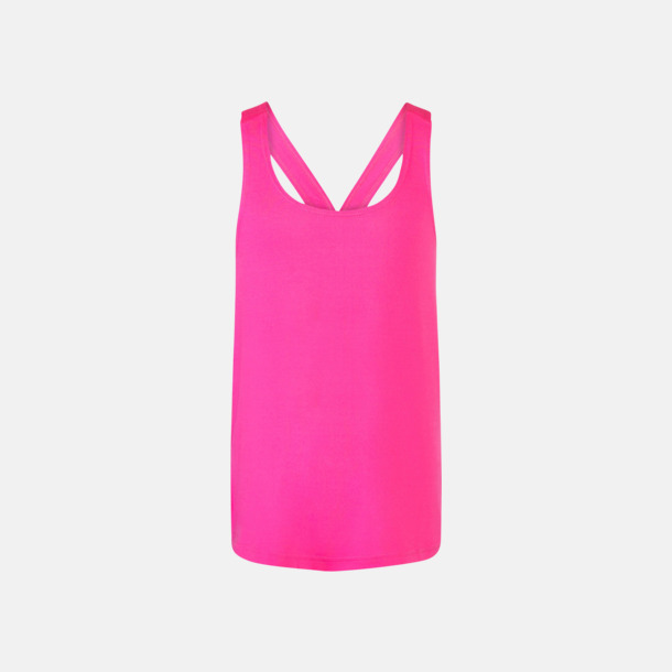 Neon Pink (flicka) Sportlinnen för kvinnor & flickor - med reklamtryck