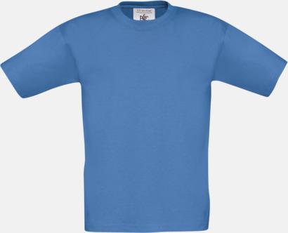Azure (barn) Fina kvalitets bas t-shirts med reklamtryck