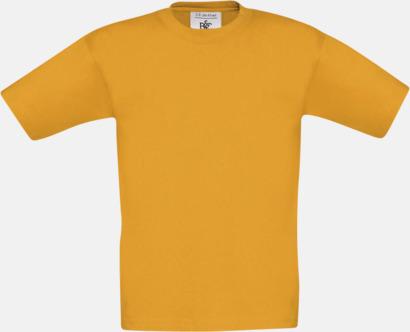Apricot (barn) Fina kvalitets bas t-shirts med reklamtryck