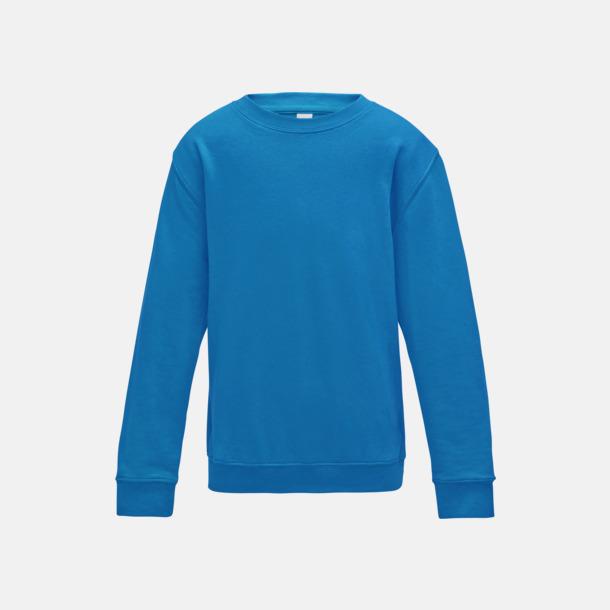 Sapphire Blue (barn) Tröjor i många färger med reklamtryck
