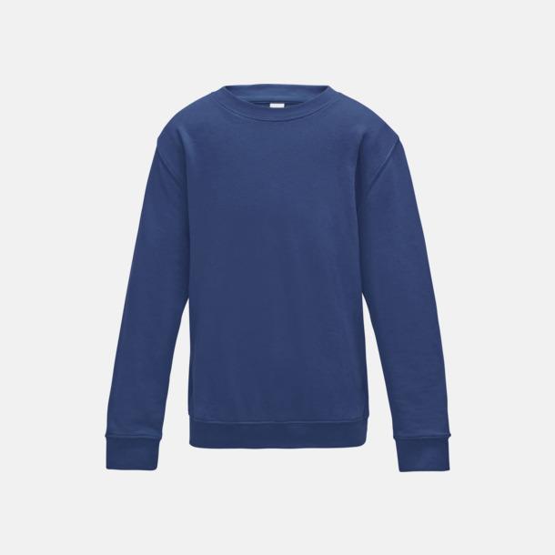 Royal Blue (barn) Tröjor i många färger med reklamtryck