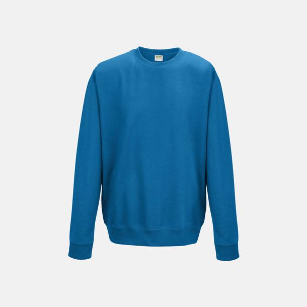 Sapphire Blue (unisex) Tröjor i många färger med reklamtryck