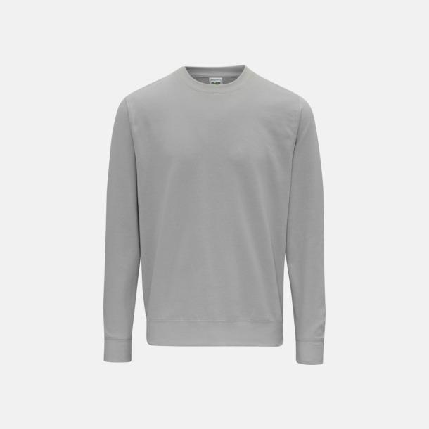 Moondust Grey (unisex) Tröjor i många färger med reklamtryck