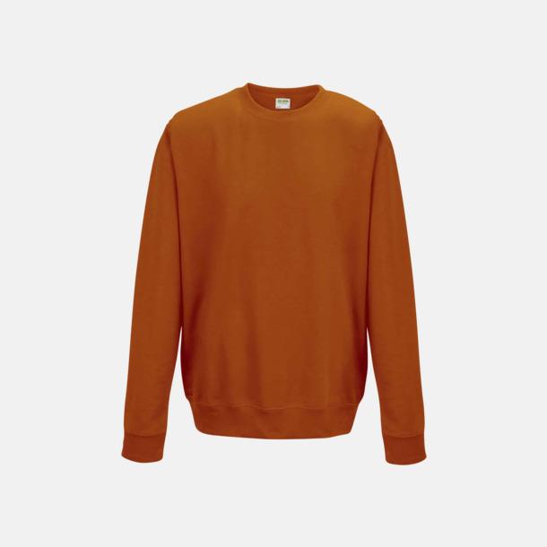 Burnt Orange (unisex) Tröjor i många färger med reklamtryck