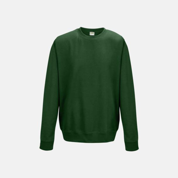 Bottle Green (unisex) Tröjor i många färger med reklamtryck