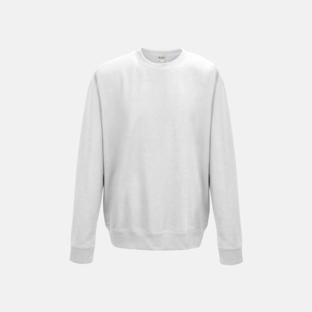 Arctic White (unisex) Tröjor i många färger med reklamtryck