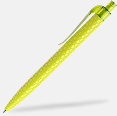Yellow Green Bikupemönstrade Prodir-pennor med reklamtryck