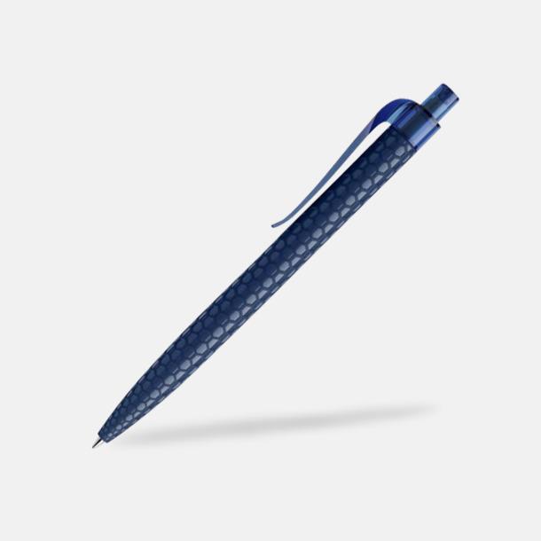 Sodalite Blue Bikupemönstrade Prodir-pennor med reklamtryck