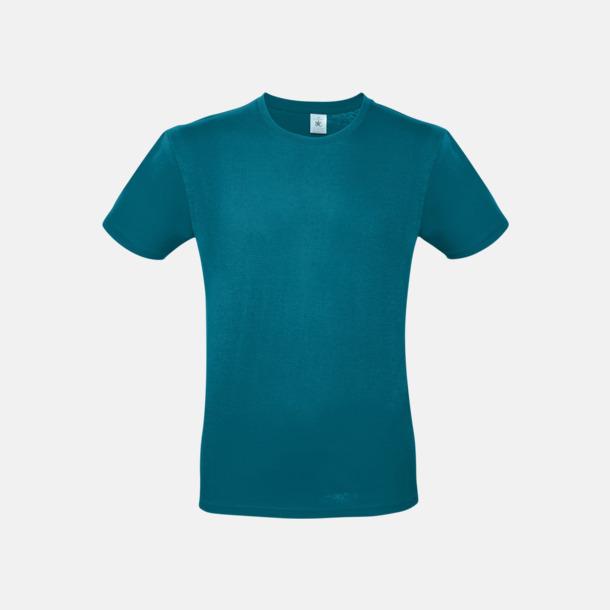 Diva Blue (herr) Fina kvalitets bas t-shirts med reklamtryck