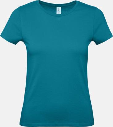 Diva Blue (dam) Fina kvalitets bas t-shirts med reklamtryck