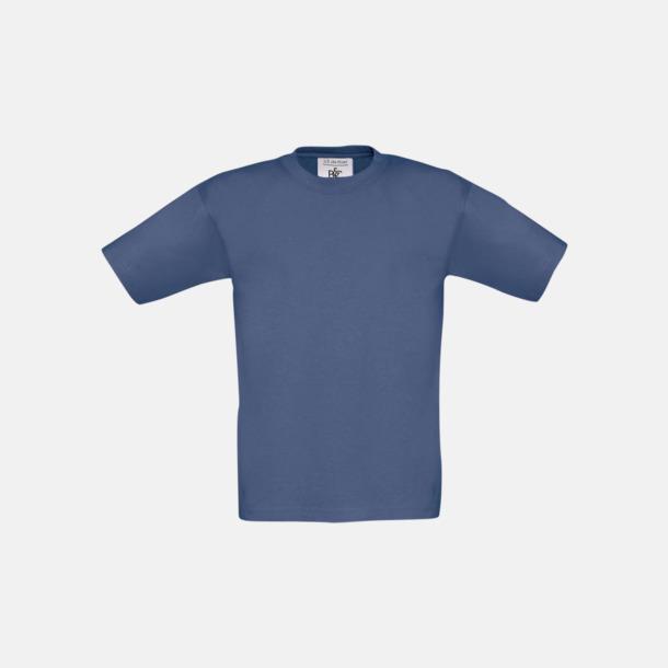 Denim (barn) Fina kvalitets bas t-shirts med reklamtryck