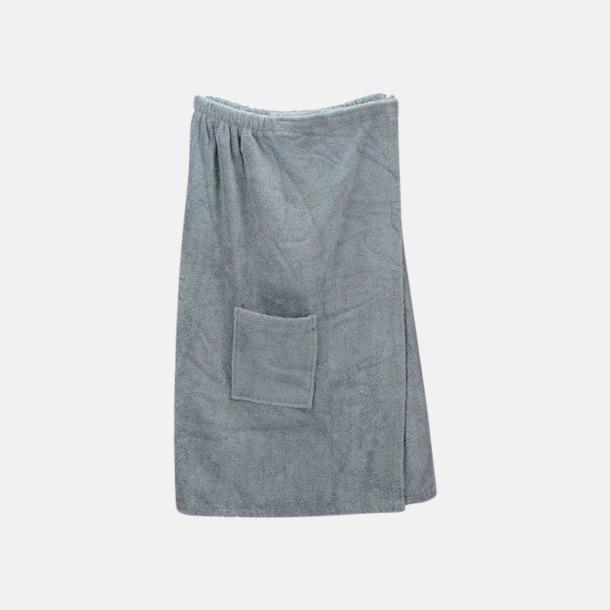 Anthracite Grey (dam) Färgglada bastukiltar meed kardborre - med reklamlogo