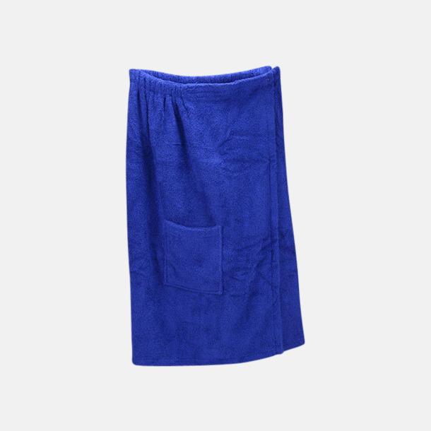 True Blue (dam) Färgglada bastukiltar meed kardborre - med reklamlogo
